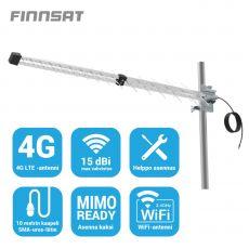Finnsat suunta-antenni 4G-verkkoihin 15 dBi FS5800