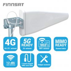 Finnsat suunta-antenni 4G/5G-verkkoihin 12 dBi FS5000