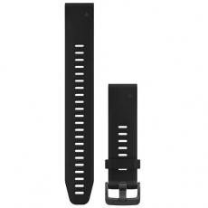 Garmin Fenix 5S/6S ranneke silikoni suuri black