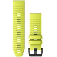 Garmin Fenix 3/5X/6X ranneke silikoni lime