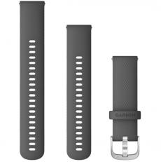 Garmin Vivoactive 4 ranneke silikoni grey
