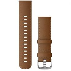 Garmin ranneke 245/645/Vivomove/Venu nahka brown