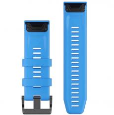 Garmin Fenix 3/5X/6X ranneke silikoni blue