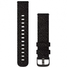 Garmin ranneke 245/645/Vivomove/Venu nailon black