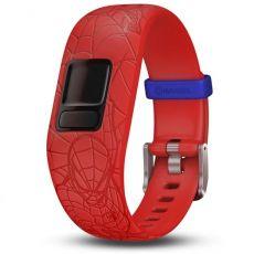 Garmin Vivofit jr. 2 vaihtoranneke Spider-Man Red