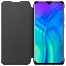 Honor 20 Lite Flip Cover black
