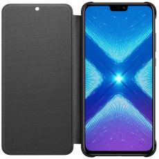 Honor 8X Flip Protective Cover black
