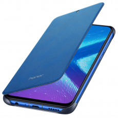 Honor 8X Flip Protective Cover blue