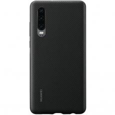 Huawei P30 PU Cover Black