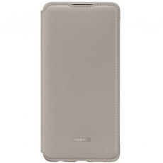 Huawei P30 PU Wallet Cover khaki