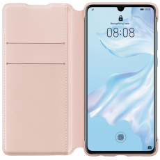 Huawei P30 PU Wallet Cover pink