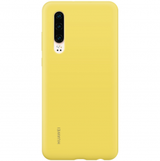 Huawei P30 Silicone Cover Yellow