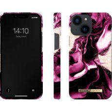 iDeal Fashion suojakuori Apple iPhone 13 Mini golden ruby marble