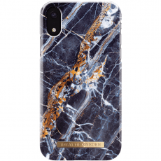Ideal Fashion Case iPhone Xr midnight blue marble