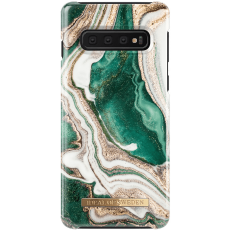 Ideal Fashion Case Galaxy S10 golden jade marble