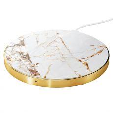 Ideal langaton QI-laturi carrara gold