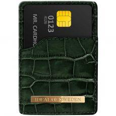 iDeal Magnetig Card Holder croco green