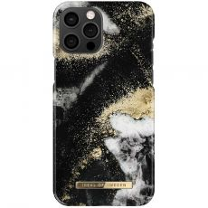 iDeal Fashion Case iPhone 12 Pro Max black galaxy marble