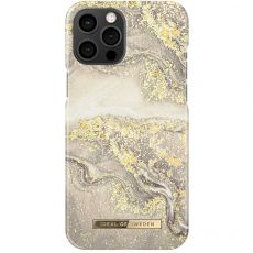 iDeal Fashion Case iPhone 12 Pro Max sparkle greige marble