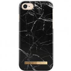 Ideal Fashion Case iPhone 6/6S/7/8 black marble