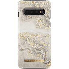 Ideal Fashion Case Galaxy S10 sparkle greige marble