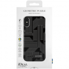 Ideal Fashion Case iPhone X geometric puzzle