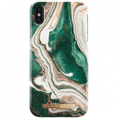 Ideal Fashion Case iPhone Xs Max golden jade marble