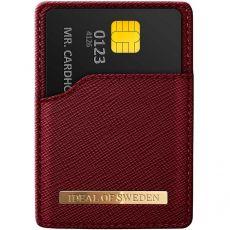 iDeal Magnetig Card Holder red