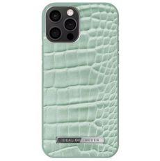 iDeal Atelier Case iPhone 12/12 Pro mint croco