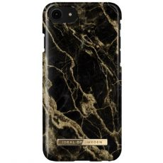 Ideal Fashion Case iPhone 6/6S/7/8/SE golden smoke marble