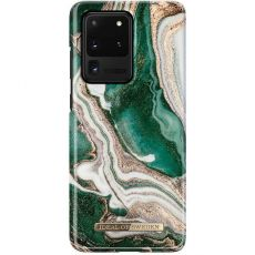 iDeal Fashion Case Galaxy S20 Ultra golden jade marble