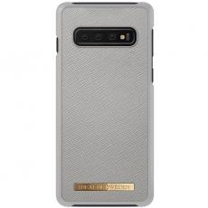 Ideal Saffiano Case Galaxy S10 grey