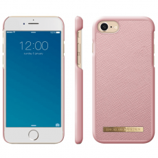 Ideal Saffiano Case iPhone 6/6S/7/8/SE pink