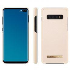 iDeal Saffiaono Case Galaxy S10+ beige *poisto, avattu palautus*