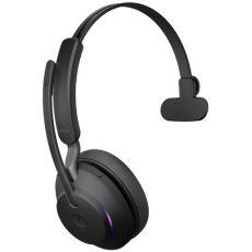 Jabra Evolve2 65 MS Mono + Link380C (USB-C-adapterilla) black