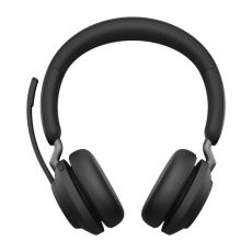 Jabra Evolve2 65 MS Stereo + teline + LINK380C (USB-C-adapterilla) black