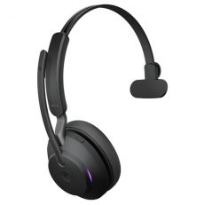 Jabra Evolve2 65 MS Mono + LINK380A (USB-A-adapterilla) black