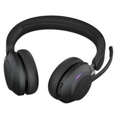 Jabra Evolve2 65 MS Stereo + LINK380A (USB-A-adapterilla) black