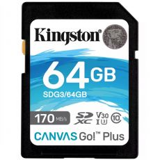 Kingston Canvas Go Plus SDXC 64GB 170MB/s