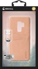 Krusell Sunne 2 Card Cover Galaxy S9+ nude