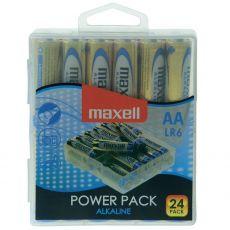 Maxell Alkaline LR06/AA-paristoja 24 kpl