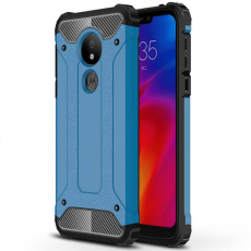 Luurinetti suojakuori Moto G7 Power blue