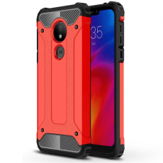 Luurinetti suojakuori Moto G7 Power red