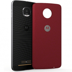 Moto Mods Back Cover Nylon Fabric Red