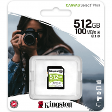 Kingston Canvas Select Plus SDXC 512GB