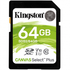 Kingston Canvas Select Plus SDXC 64GB