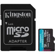 Kingston Canvas GO! Plus micoSD-kortti 128GB