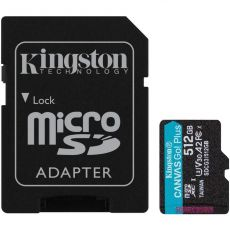 Kingston Canvas GO! Plus micoSD-kortti 512GB