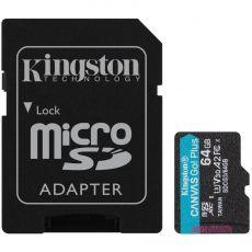 Kingston Canvas GO! Plus micoSD-kortti 64GB