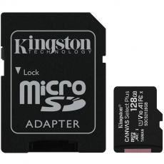 Kingston microSDXC 128GB Canvas Select Plus
